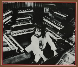 1974 PHOTO SHOT PORTRAIT - The Keyboard Wizard